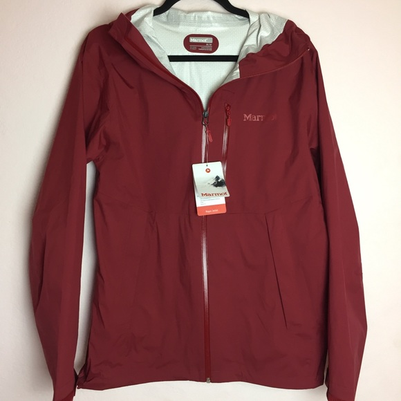 lowest discount professional design latest style Marmot Magus Jacket / Rain Jacket Red Color Size M NWT